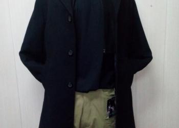 Пальто мужское с подстежкой (кашемир, шерсть)
