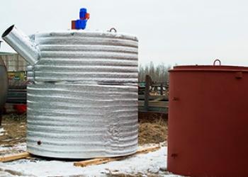 Биореактор БУГ-1 для утилизации навоза