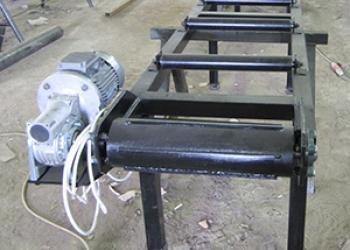 Рольганги роликовые разной длины с электроприводом