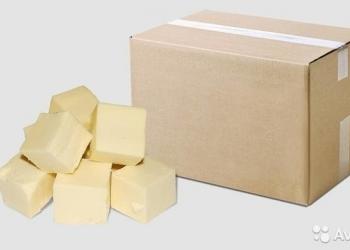 Масло сливочное 82.5%, 72.5%, ГОСТ