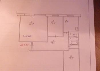 Продам 3-х комнатную квартиру на Карла Маркса 49
