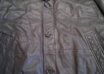 куртка кожа Hugo Boss