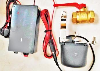 Контроллер полива с датчиком влажности почвы для теплиц с капельным орошением