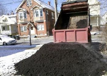 Доставка камаз земля, песок, чернозём, торф, гравий, щебень