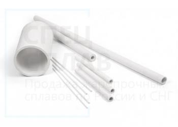 Керамическая трубка МКР огнеупорная для поддержки нагревательных спиралей