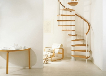 Лестницы деревянные,каркасные,винтовые