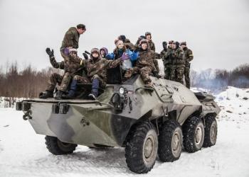 Катание на танках и БТРах / Корпоративный отдых / День Рождения / Мальчишник