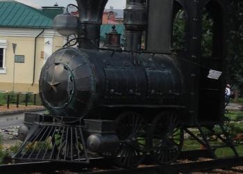 Продам кованый мангал в виде паровоза