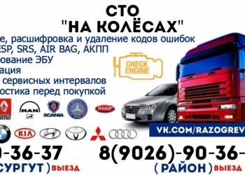 Выездная Диагностика Грузовых и Легковых автомобилей