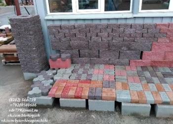 Тротуарная плитка, брусчатка, бордюр, желоб производство