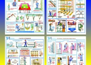 Изготовление стендов по охране труда