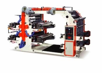 Флексопечатный станок, модель YT4600