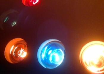 Цветоиузыкальная приставка Автомат FUNAY 6ламп на 40W 220v