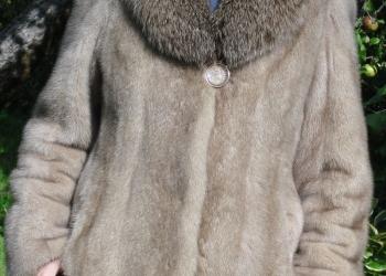Шуба норковая новая, размер 44 - 46