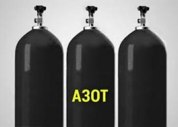 Заправка азотом, 40 л. обмен газовых баллонов