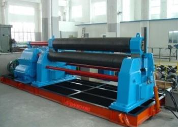 SW11-20X2500 трехвалковая вальцовочная машина типа механической симметрии
