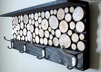 Вешалки для одежды деревянные, ручная работа
