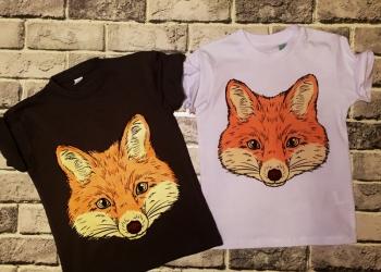 Цифровая печать на текстиле прямая печать футболки