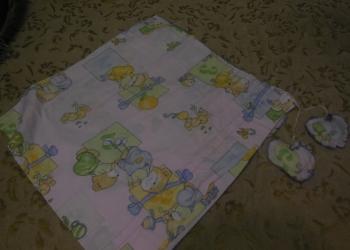 Детский балдахин и бардюр в детскую кроватку