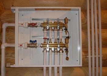 Монтаж отопления, систем водоснабжения и канализации в Московской области