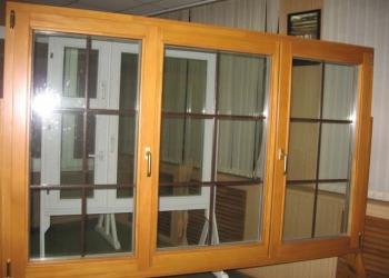 Деревянные окна и двери производим