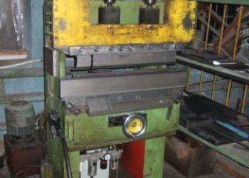 Металлообрабатывающее оборудование, листогибы, токарные, фрезерные, гильотины.