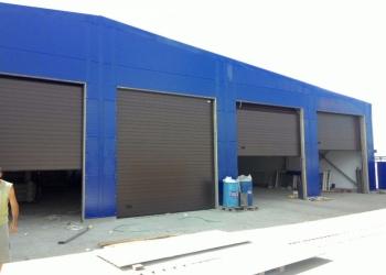 Секционные промышленные ворота «Алютех»
