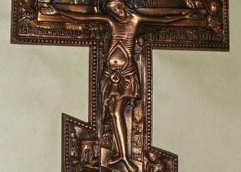 Продам крест настенный, патинирование
