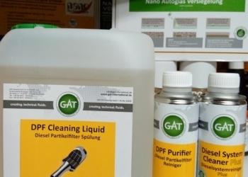 Сажевый Фильтр Промывка - GAT DPF Cleaning Liquid(5.0 L)