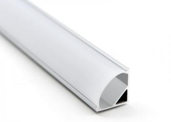 Профиль 16x16 для светодиодной ленты