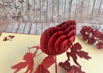Панорамные 3D открытки ручной работы