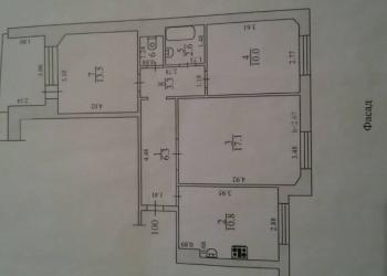 3-к квартира, 70 м2, 7/9 эт.