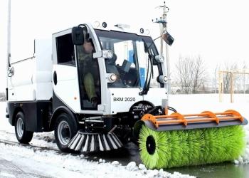 Коммунальная тротуаро-уборочная машина ВКМ 2020