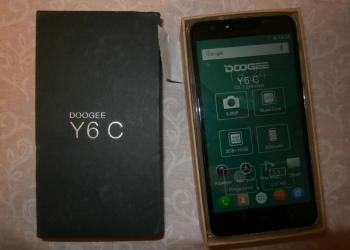 смартфон doogee y6c