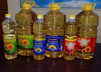 Подсолнечное масло РДВ