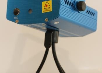 Лазерный проектор для дискотек, вечеринок, и. т. д
