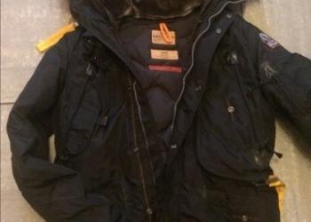 Мужская куртка PARAJUMPERS Kodiak ХАКИ размер М/L(примерно48-50).