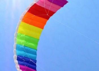 Воздушный змей радуга