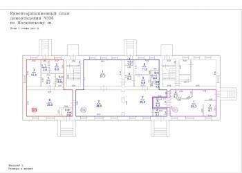 Магазин 68,4 м², два отдельных входа, на 1-ой линии
