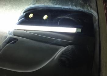 Полирование автомобильного стекла