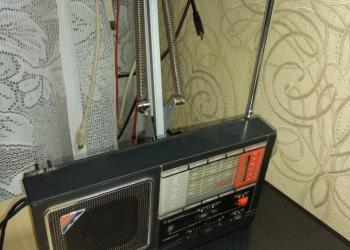Радиоприемник Меридиан РП-348 ретро СССР 80-е гг.
