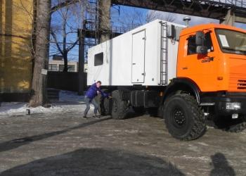 Вахтовый  автобус КАМАЗ,  вахтовка КАМАЗ,  автобус  КАМАЗ 5350