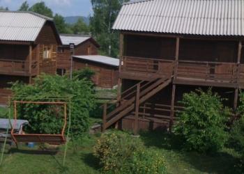 Туристическая база в Горном Алтае оз.Ая