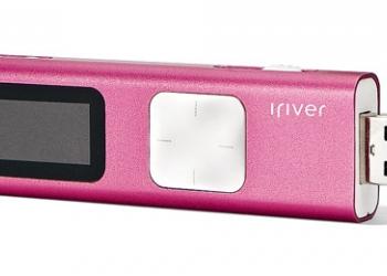 Мр3-плеер - iRiver T9 4GB Pink