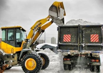 Вывоз и уборка снега,чистка снега.Вывоз мусора