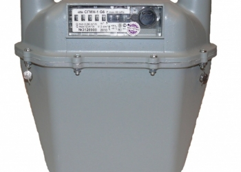 Счетчик газа СГБМ-1М G-6 200мм правый артикул 41553