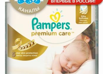 ПОДГУЗНИКИ PREMIUM CARE 1 NEWBORN 2-5 КГ 88 ШТ. ПАМПЕРС (PAMPERS)