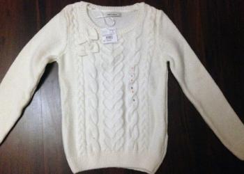 Новый белоснежный свитер, размер S