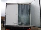 ПВХ завесы жалюзи на склад камеру дверной проем. Занавеса из пленки в фургон