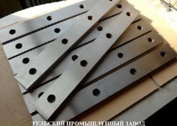 Ножи гильотинные 510х60х20мм производство для ножниц СТД-9.